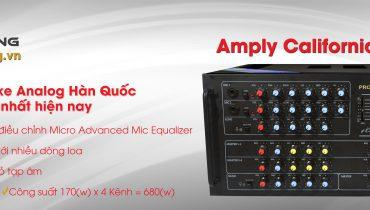 Nhật Hoàng ra mắt Amply California 606E – Thiết bị giải trí Karaoke hoàn hảo