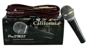 Micro California Pro SM 58