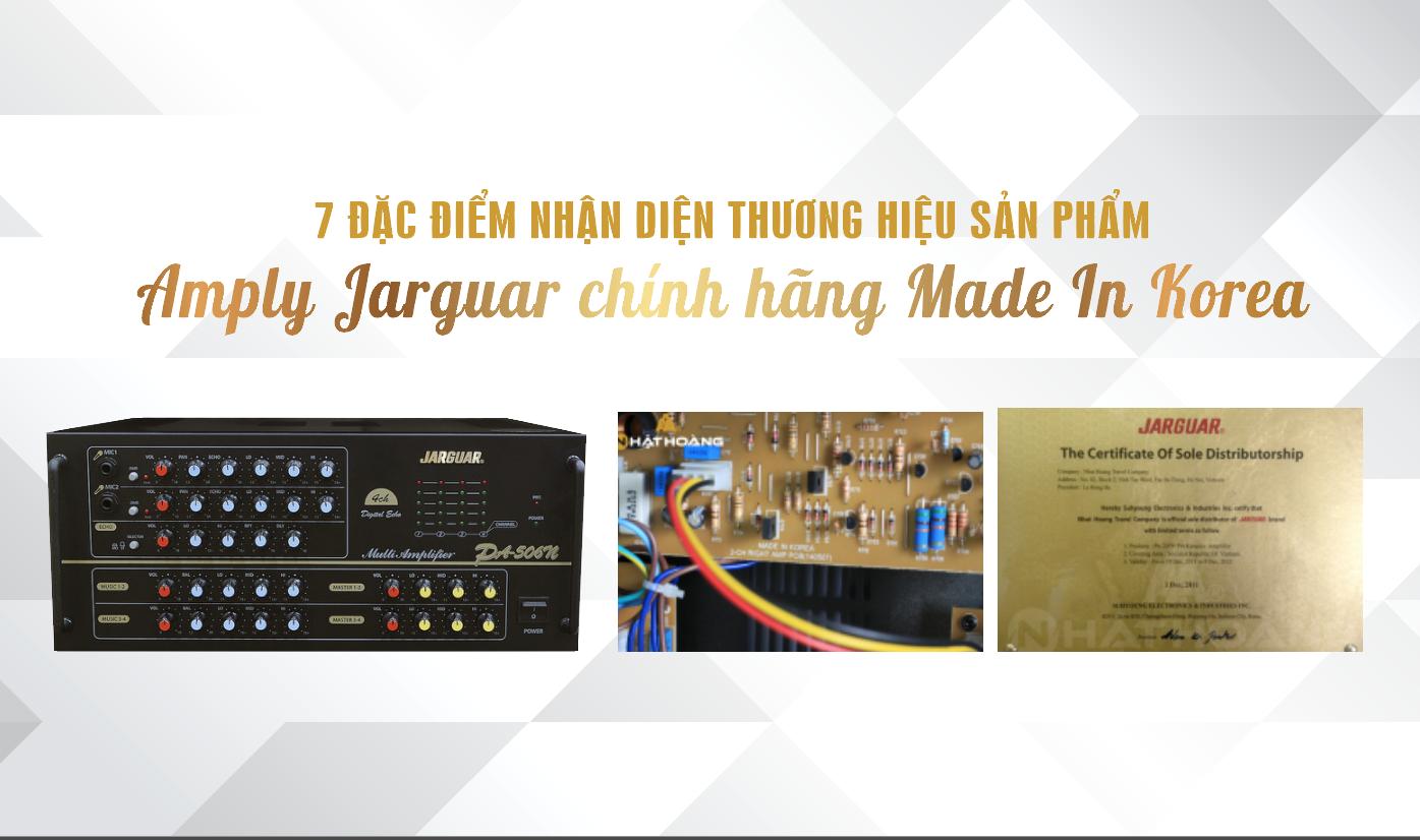 Nhật Hoàng là đơn vị đứng đầu trong việc phân phối amply jarguar chính hãng