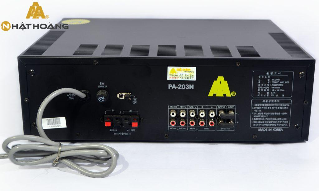 Amply karaoke PA-203N