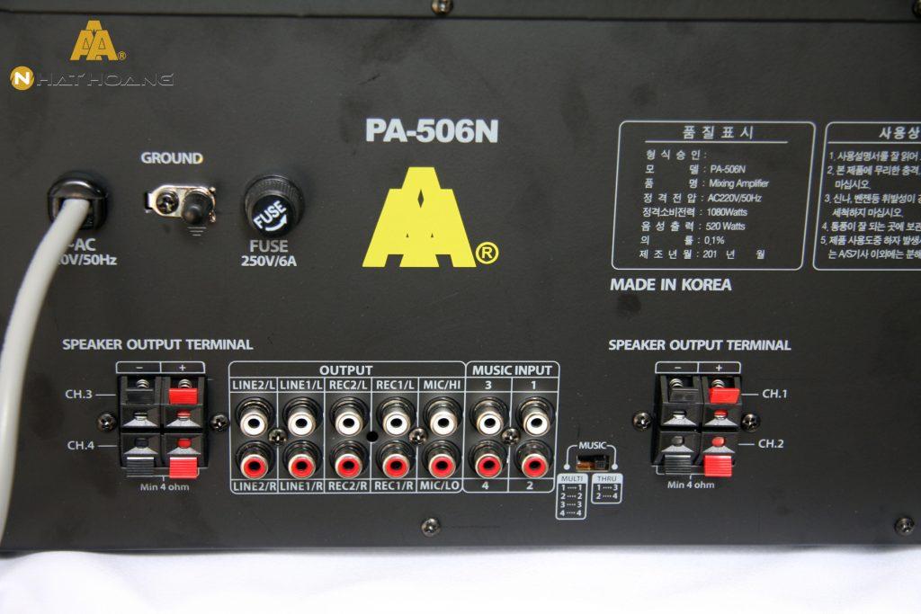 Amply karaoke PA-506N