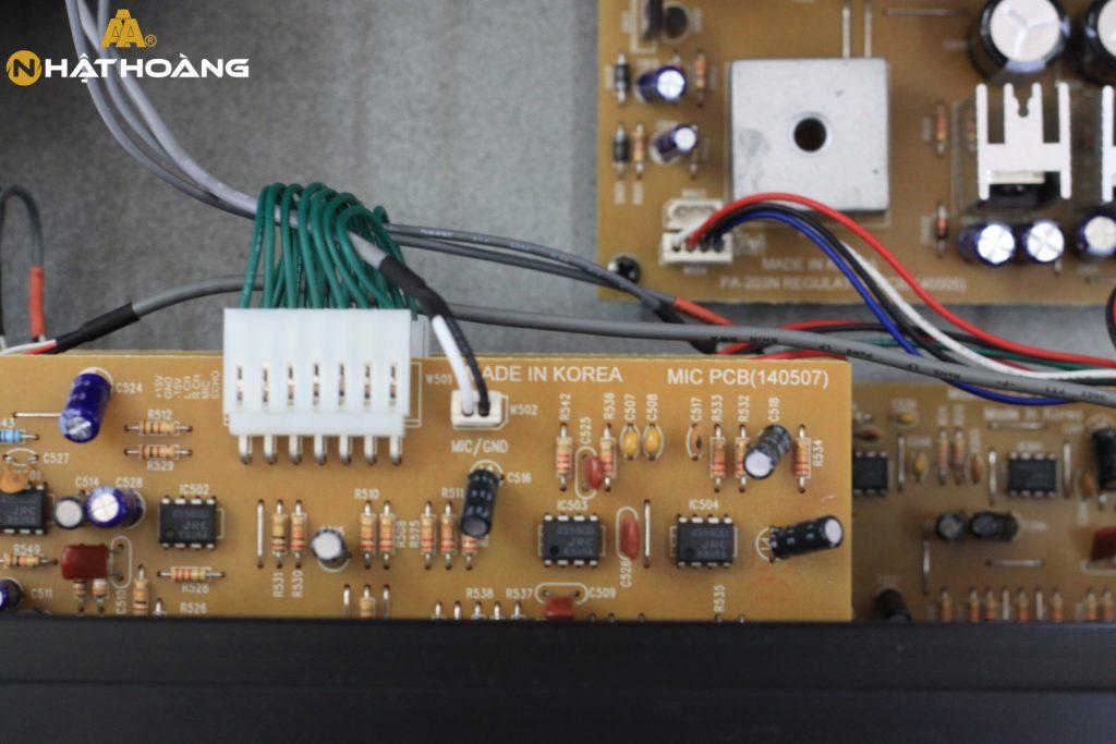 Amply Jarguar PA-203N có khả năng lọc âm siêu tốt, công suất máy lớn