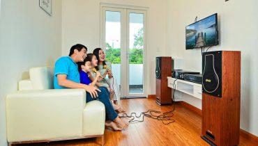 Một số lưu ý khi sử dụng bộ dàn karaoke cho phòng hát gia đình