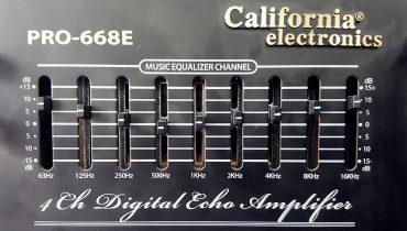 Hướng dẫn cách chỉnh Equalizer Music trên Amply Jarguar và California