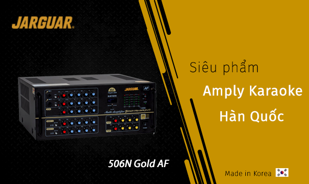 Amply Jarguar Pro-506N GOLD Anti-Feedback