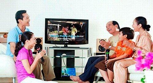 Amply loa karaoke gia đình