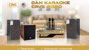 Bộ dàn karaoke gia đình hàng nhập khẩu chính hãng CAVS giá rẻ
