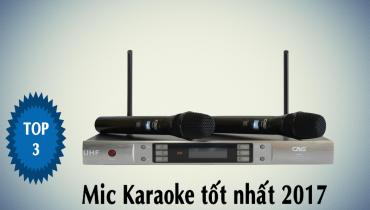 Tư vấn chọn mua micro karaoke cho dàn karaoke gia đình
