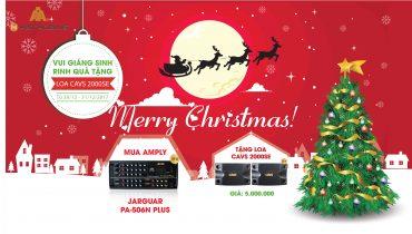Vui giáng sinh rinh quà tặng cùng Nhật Hoàng Audio