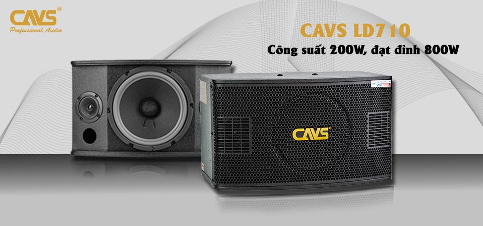 Loa karaoke CAVS LD710