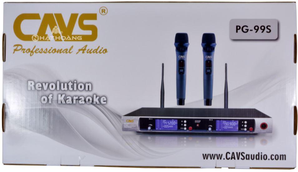 Micro không dây cavs PG99S
