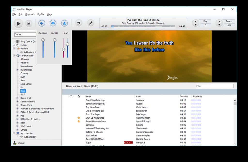 Phần mềm karaoke Karafun