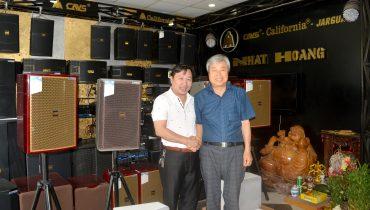 CEO Jarguar Electronics, Lee Sang Hun tới thăm Nhật Hoàng Audio