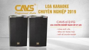 Loa Full Karaoke CAVS 612FG dòng loa cao cấp cho phòng hát gia đình
