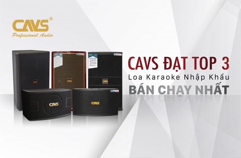 CAVS đạt top 3 thương hiệu loa bán chạy