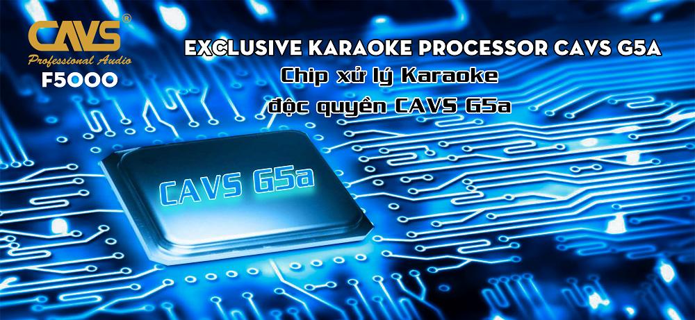 Vang cơ Karaoke CAVS F5000 Gold