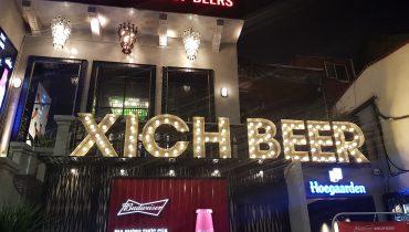 Lắp đặt hệ thống âm thanh chuỗi nhà hàng Xích-Beer3 cơ sở tại Hà Nội