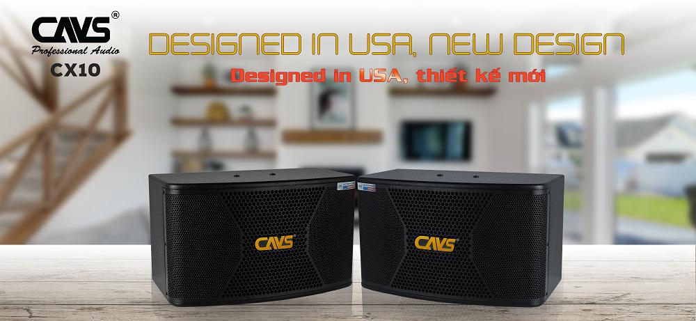 Loa Karaoke CAVS CX10 thiết kế độc quyền của CAVS