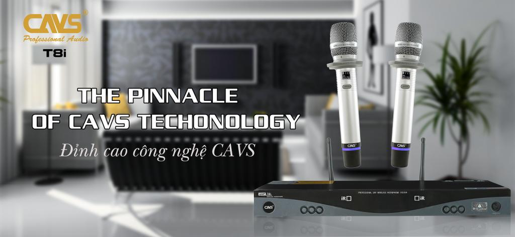 Micro Không Dây CAVS T8i - Đỉnh cao công nghệ