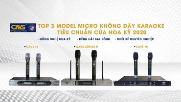 #3 Model Micro không dây thương hiệu CAVS xịn xò nhất trên thị trường hiện nay