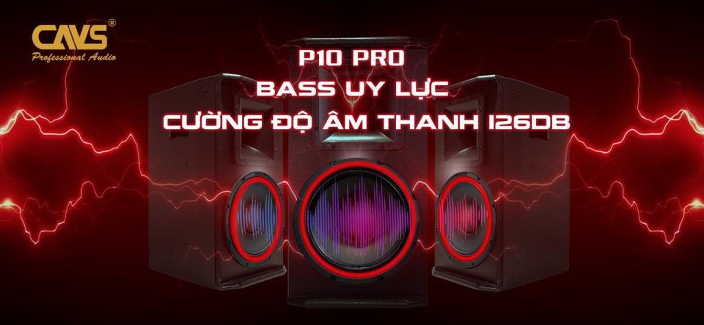 Loa Karaoke CAVS P10 Pro