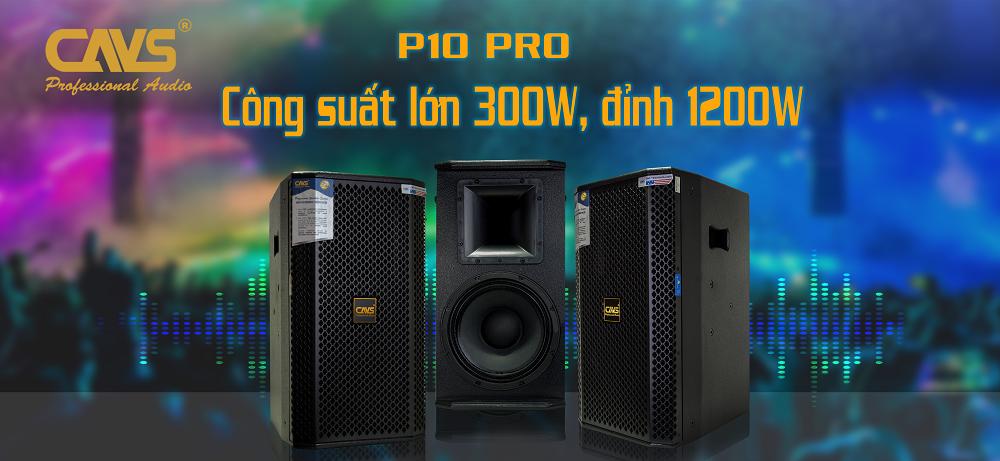 Loa Full CAVS P10 Pro