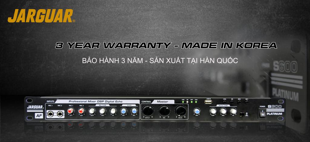 Vang cơ Jarguar S600 Platinum