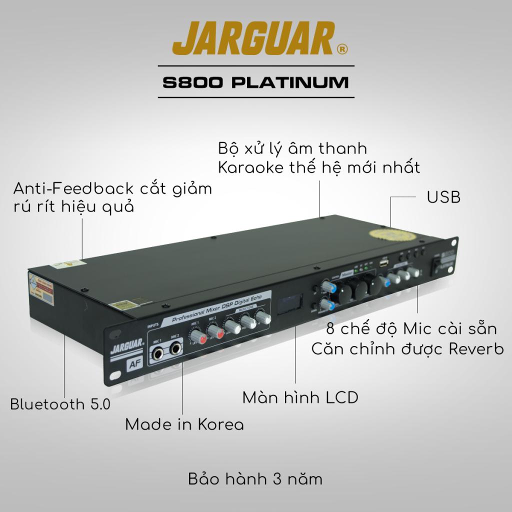 Vang cơ DSP Jarguar S800 Platinum