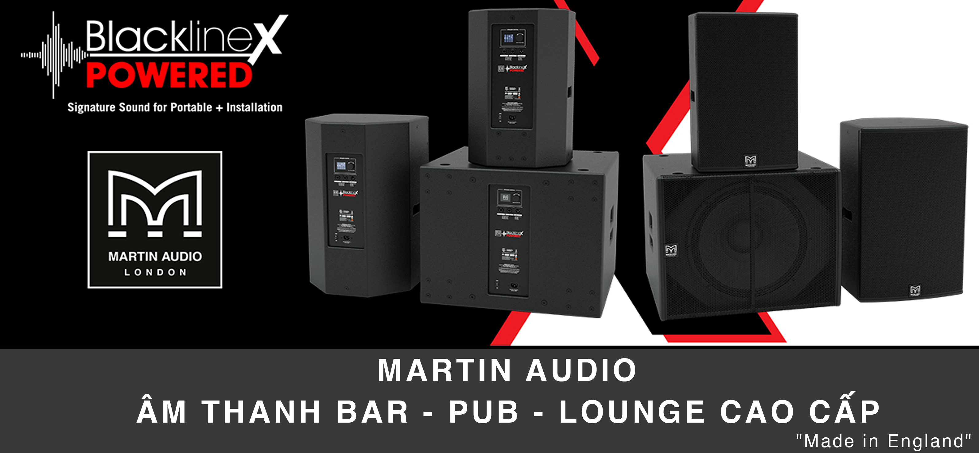 Martin Audio chính hãng