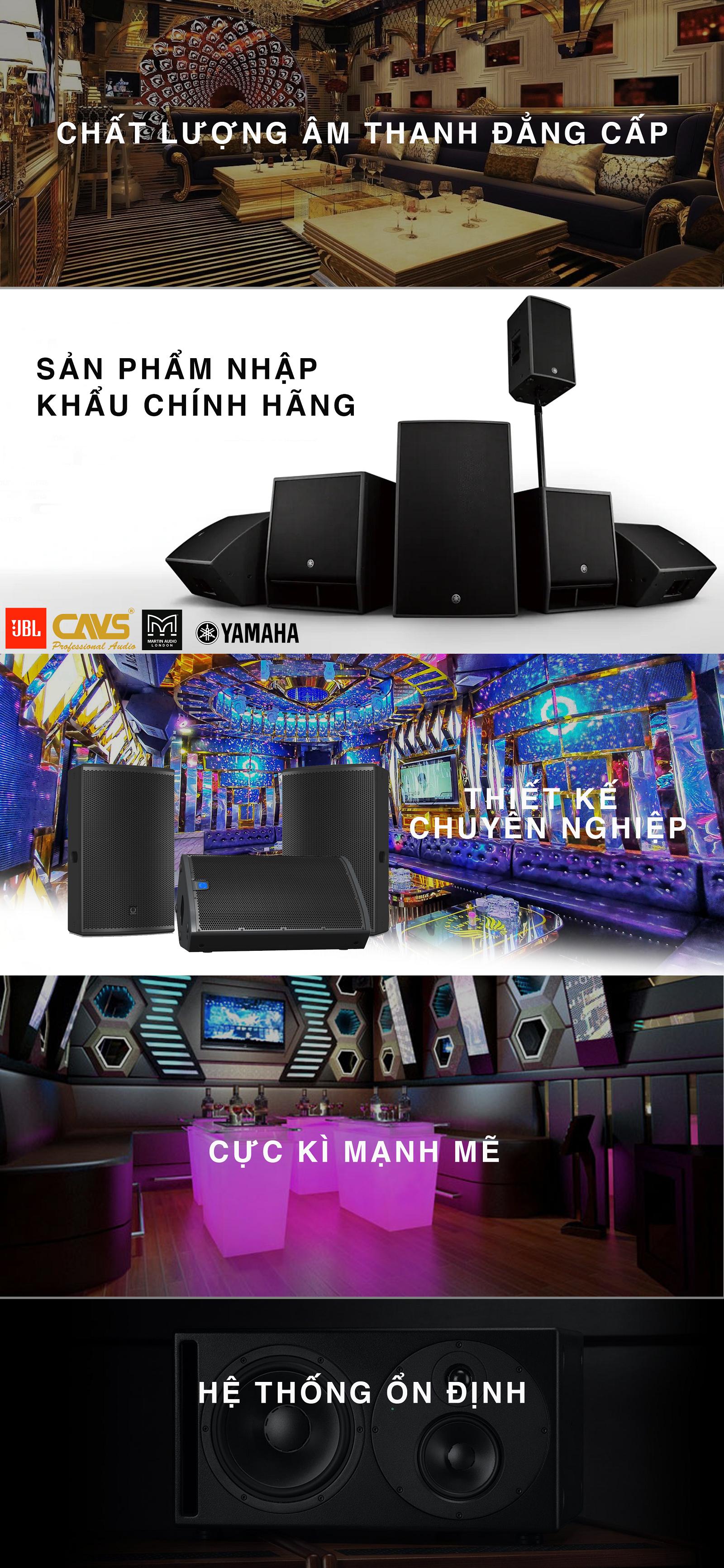 Lắp đặt dàn Karaoke nhập khẩu chính hãng