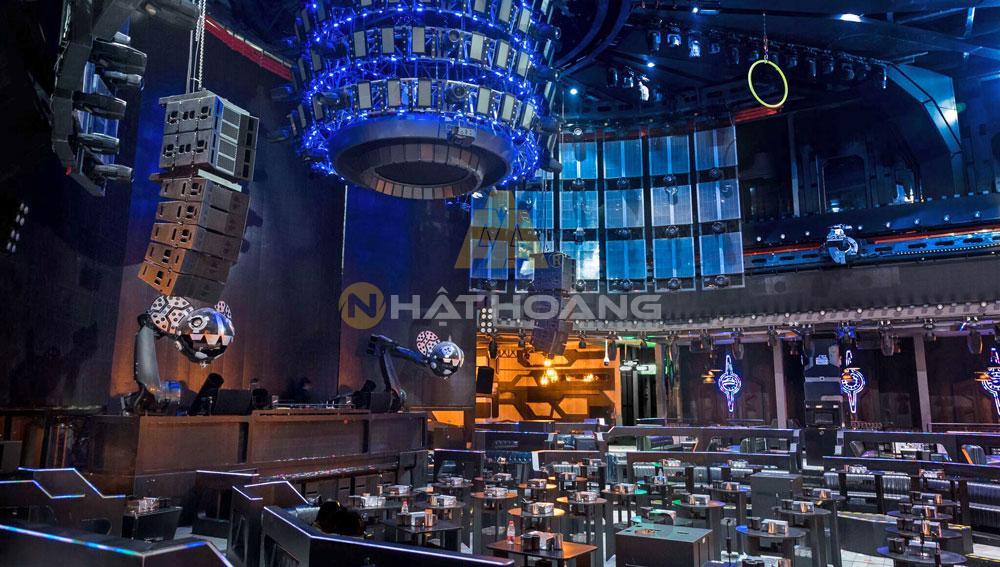 lắp đặt âm thanh Bar - Beer Club - Lounge 7