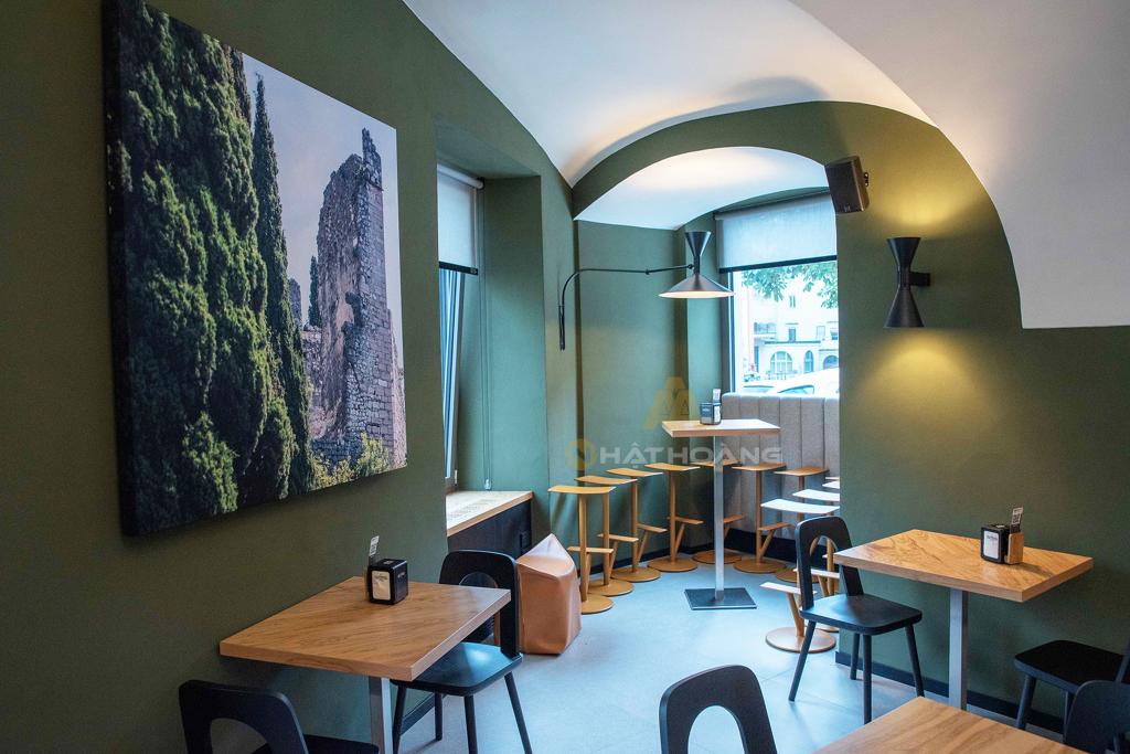 lắp đặt âm thanh Cafe - Nhà hàng - Spa 5