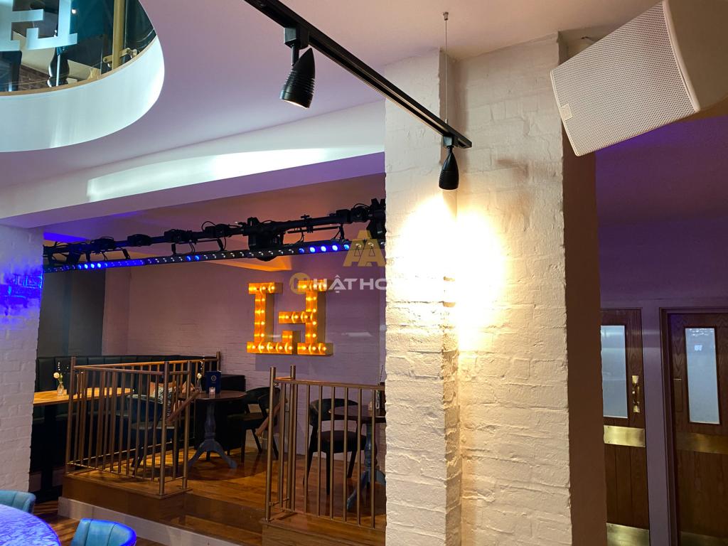 lắp đặt âm thanh Cafe - Nhà hàng - Spa 8