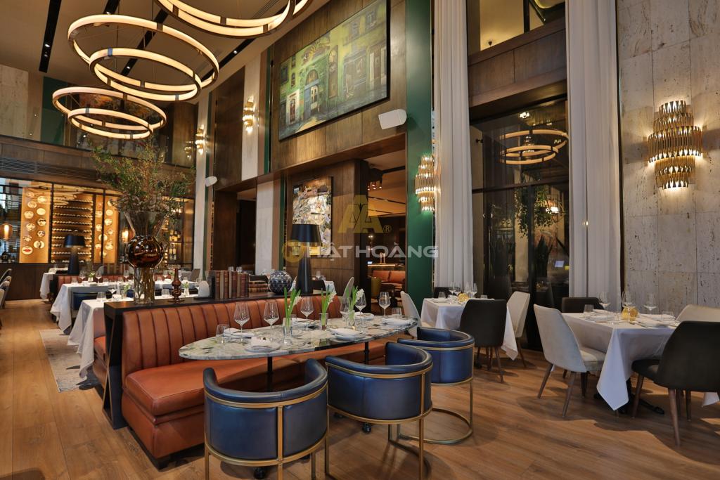 lắp đặt âm thanh cafe - nhà hàng - spa 3