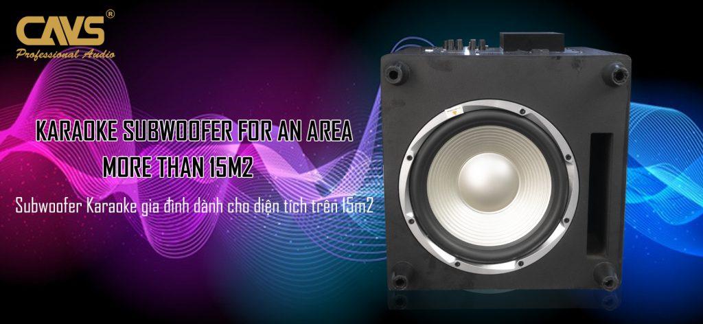 Loa Sub CAVS KL12 Bass 30 Active