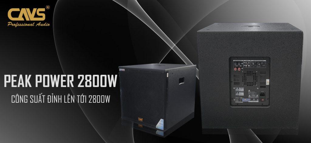 Loa Sub CAVS SC715 Bass 40 Active