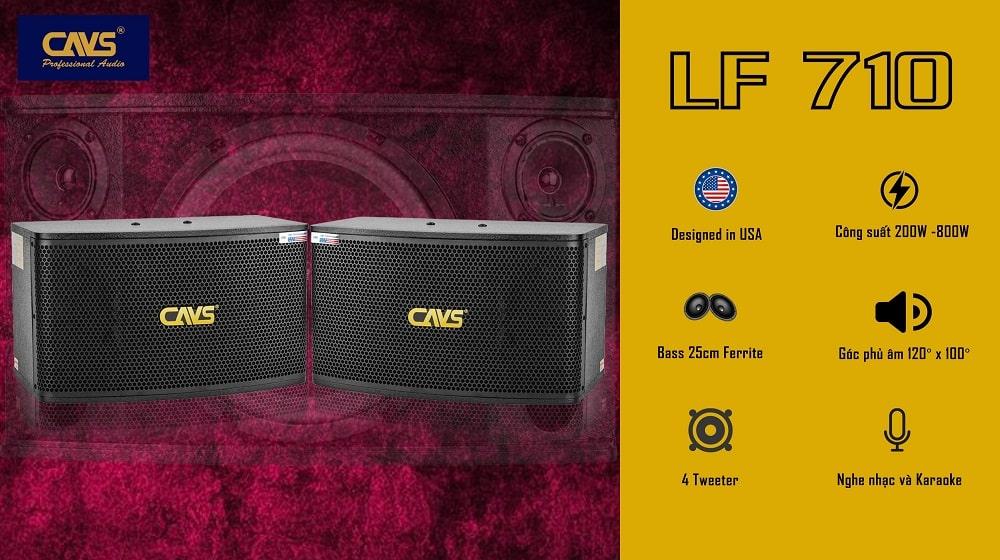 Loa Karaoke CAVS LF710 bass 25
