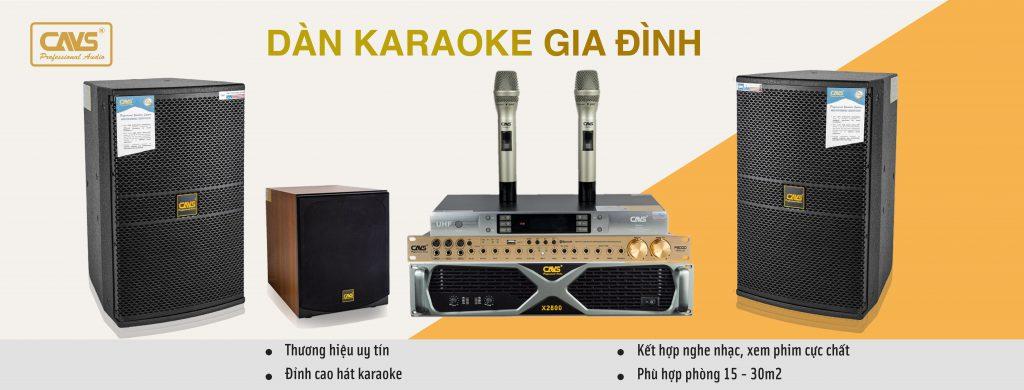 Trọn Bộ Dàn Karaoke Gia Đình chính hãng