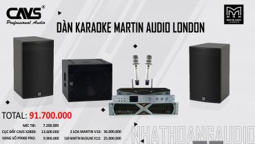 Dàn Karaoke nhập khẩu cao cấp Martin Audio – CAVS